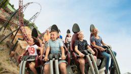Beleef de achtbaan in Slagharen vanuit Camping Zwinderen in Drenthe