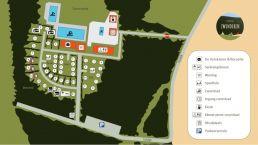 Bekijk de plattegrond van Camping Zwinderen in Drenthe